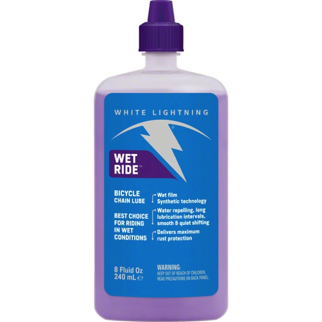 White Lightning Wet Ride Lube - 8oz