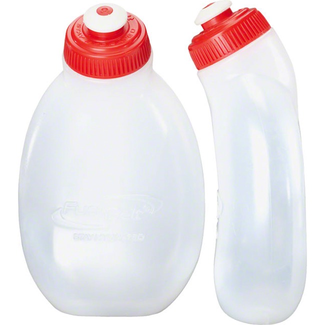 FuelBelt 10oz Water Bottles - 2 Pack (Clear)