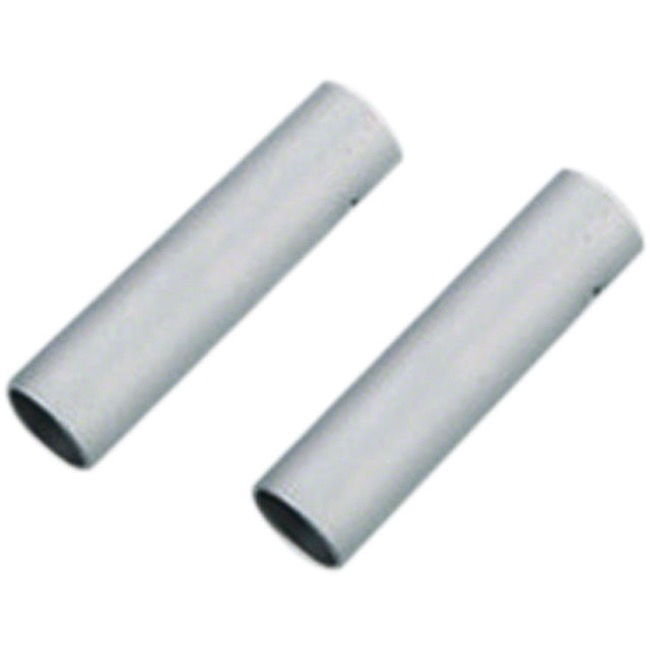 Jagwire Double-Ended Connecting Ferrule - 4mm (Silver) Bag of 10