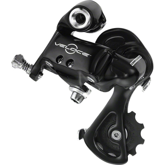 Campagnolo Veloce Rear Derailleur - 10 Speed - Short Cage (Black)