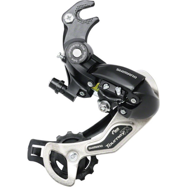 Shimano RD-TX35 Tourney Rear Derailleur - 6/7 Speed - With Hanger (Black)