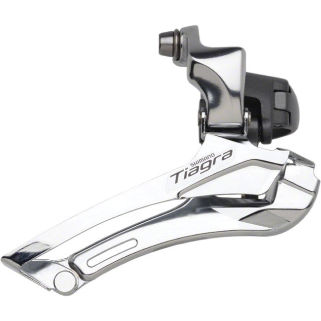 Shimano FD-4600 Tiagra Double Front Derailleur - 10 Speed - 28.6/31.8mm Clamp