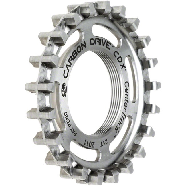 Gates Carbon Drive CDX CenterTrack Rear Cog - 21 Tooth (Thread-on Fixed Hub)