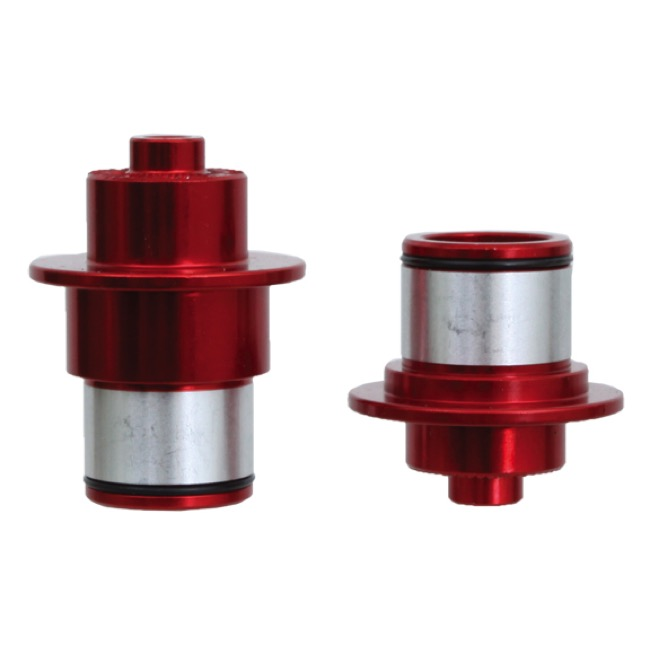 SunRingle Wheelset Hub Axle Conversion Kits - SRD/Pro, Front 9 QR x100mm (Red)