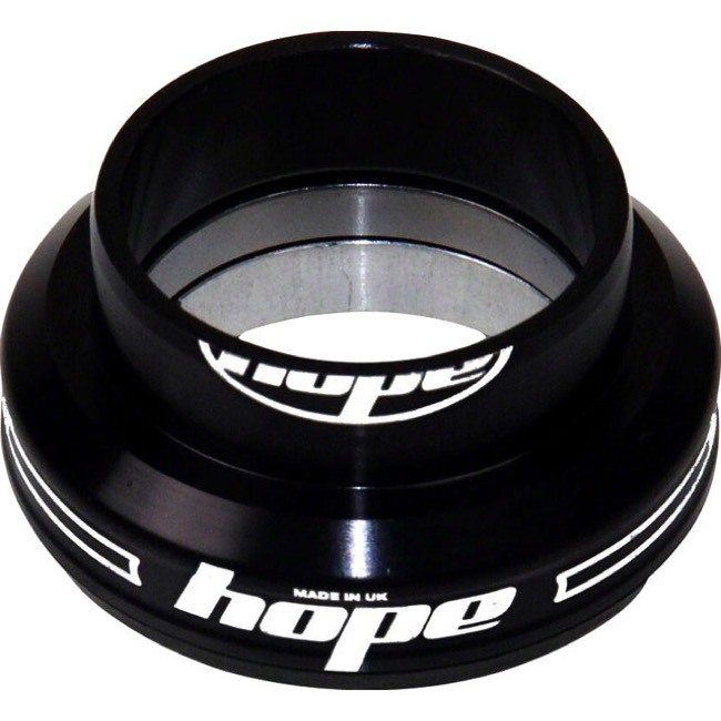"Hope EC34 1 1/8"" Lower Cup Assembly - EC34 Lower Cup, 1 1/8"" Steerer (Black)"