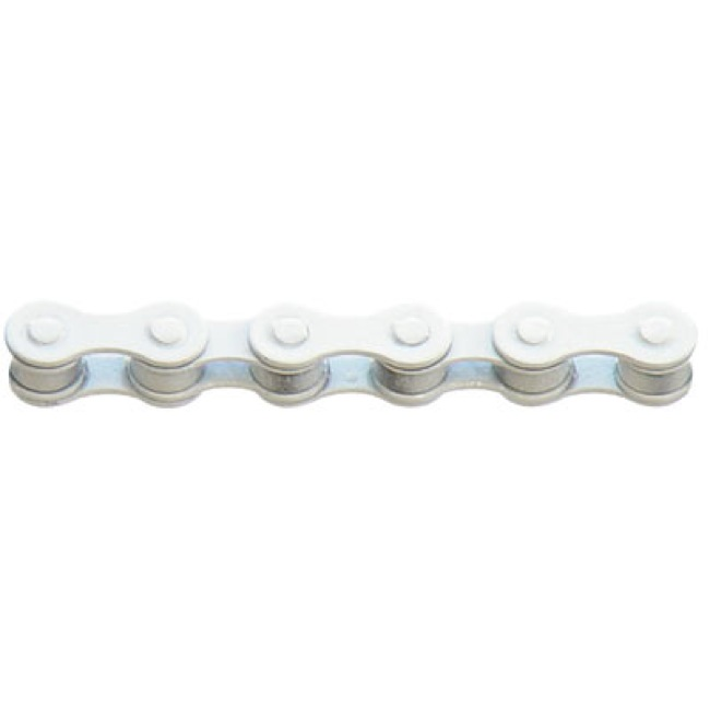 "KMC Z410 1spd Chain - 1/8"" Single Speed (White)"