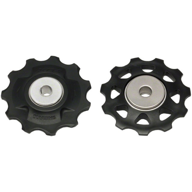 Shimano Upper and Lower Pulleys and Bolts - XTR M980 Pulley Set (Pair)