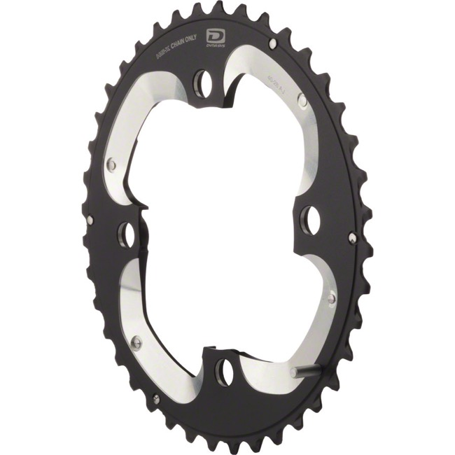 Shimano XT M785 Chainrings - 104 x 40t Outer (AJ)