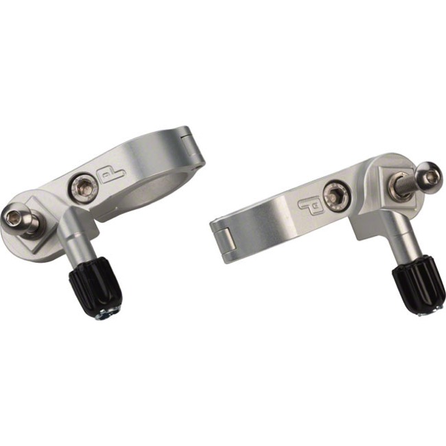 Paul Components Thumbies - Shimano, Fits 22.2mm Mtn Bars (Silver)