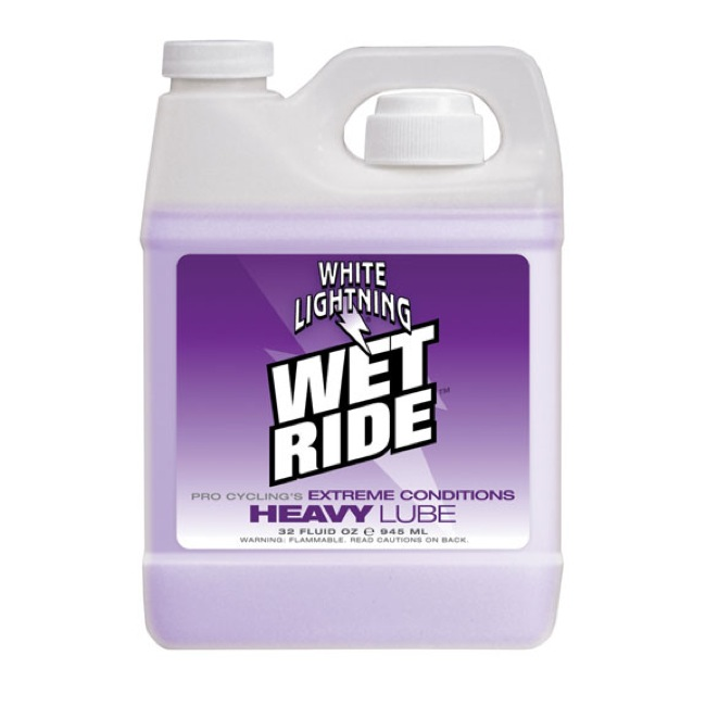 White Lightning Wet Ride Lube - 32oz