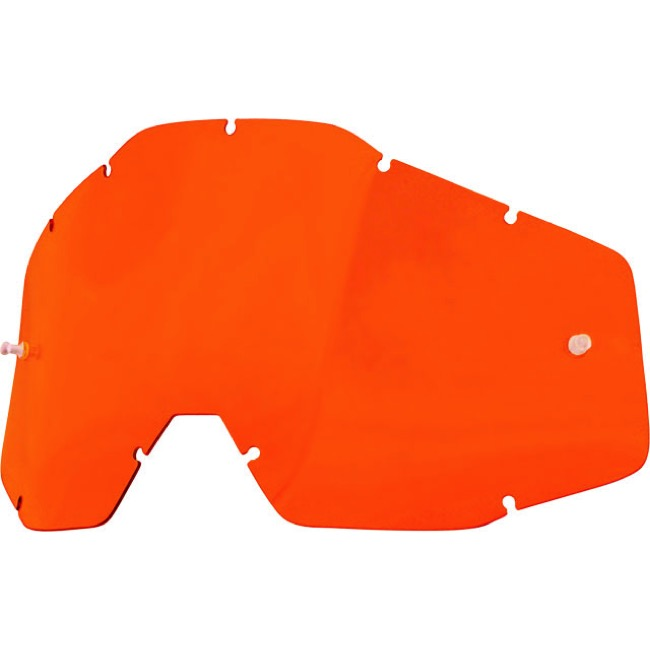 100% Goggles Replacement Lenses - Single Lens (Orange)