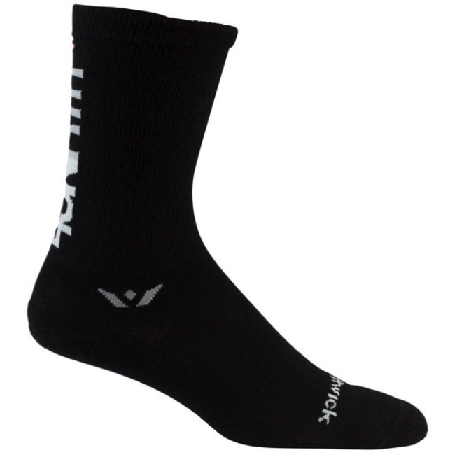 45NRTH Wool Socks - Black - Medium (Black)