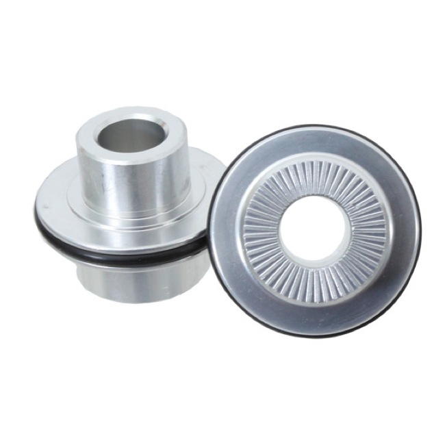 Stans Hub and Wheel Axle Conversion Kits - Front 9mm TA Axle Caps (Front, 3.30 / Crest/Arch)
