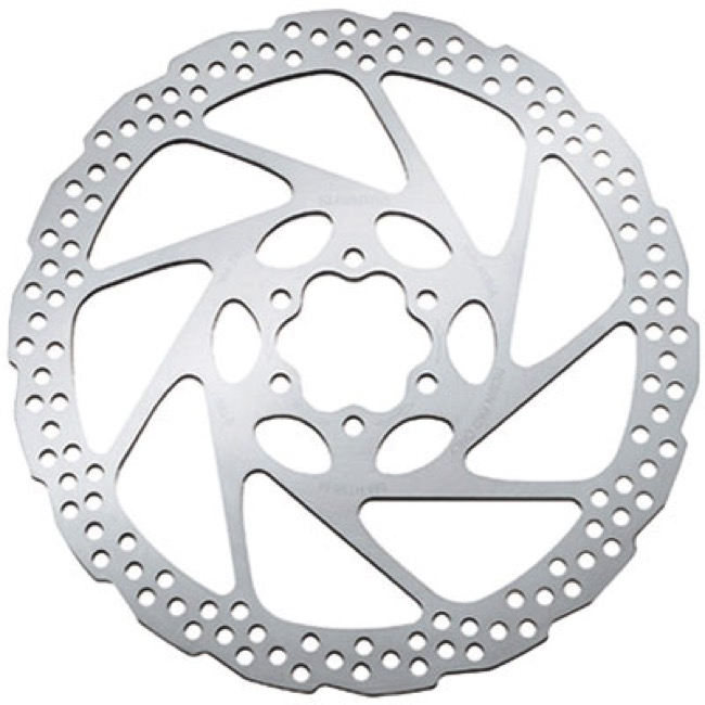 Shimano 6 Bolt Disc Rotors - SM-RT56S (160mm) 6 Bolt Rotor
