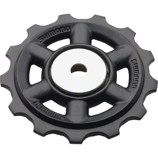 Shimano Upper and Lower Pulleys and Bolts - Acera 8 Speed, 13 Tooth, Upper Pulley Unit