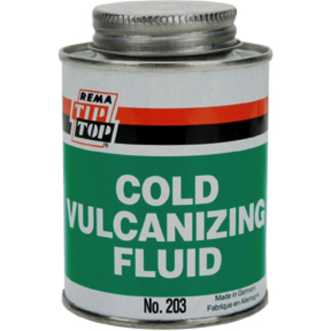 Rema Tip Top Vulcanizing Fluid - 8 oz. Brush Can
