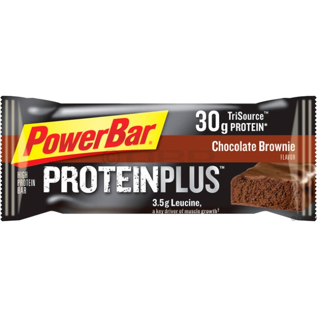 PowerBar Protein Plus Bars - Chocolate Brownie (Box of 12)