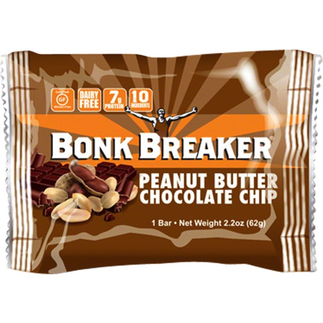 Bonk Breaker Energy Bars - Peanut Butter Dark Choc. Chip (Box of 12)