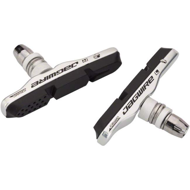 Jagwire Mountain Pro Brake Pads - Silver (Pair)