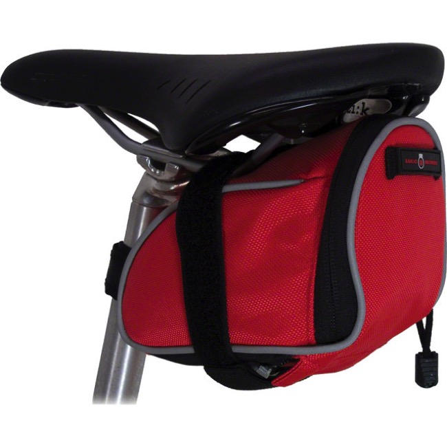 Banjo Brothers Deluxe Medium Seat Bag - Red