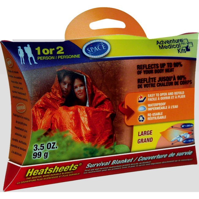 Adventure Medical Kits SOL Survival Blanket - 2-Person Blanket
