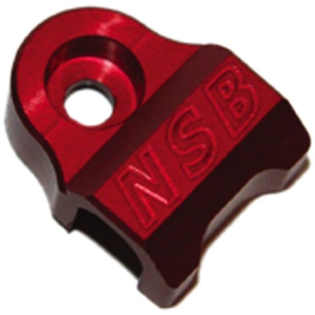 North Shore Billet Fork Cable Guides - Fits 08'-13' Fox 32/36 (Red)