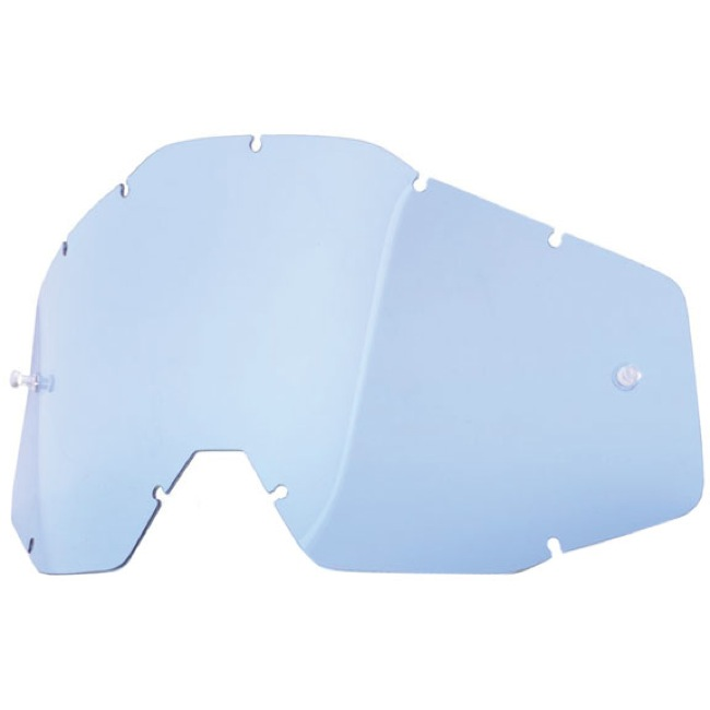 100% Goggles Replacement Lenses - Dual Lens (Blue)