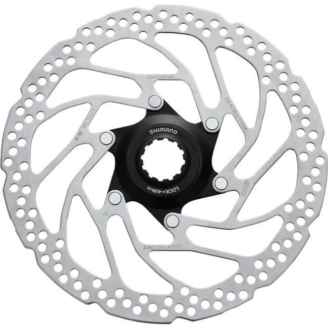 Shimano Centerlock Disc Brake Rotors - SM-RT30M (180mm) Centerlock Rotor