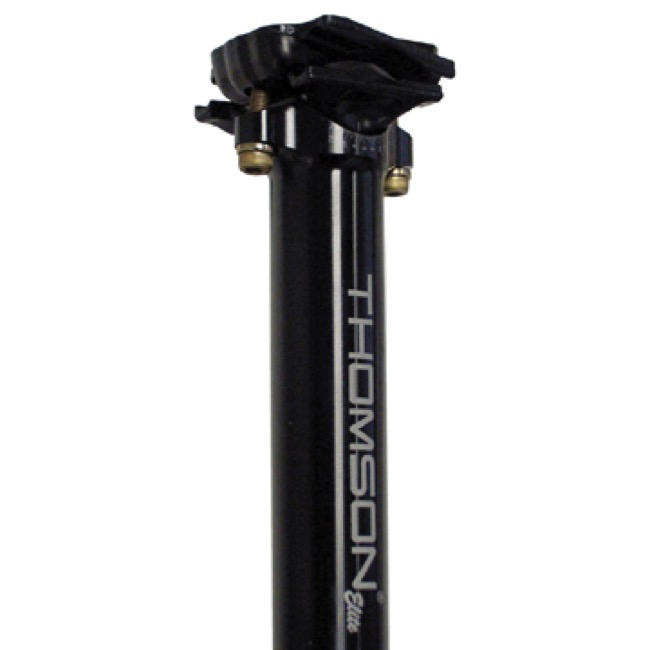 Thomson Elite Seatpost - 330mm Length - 26.0mm x 330mm (Black)