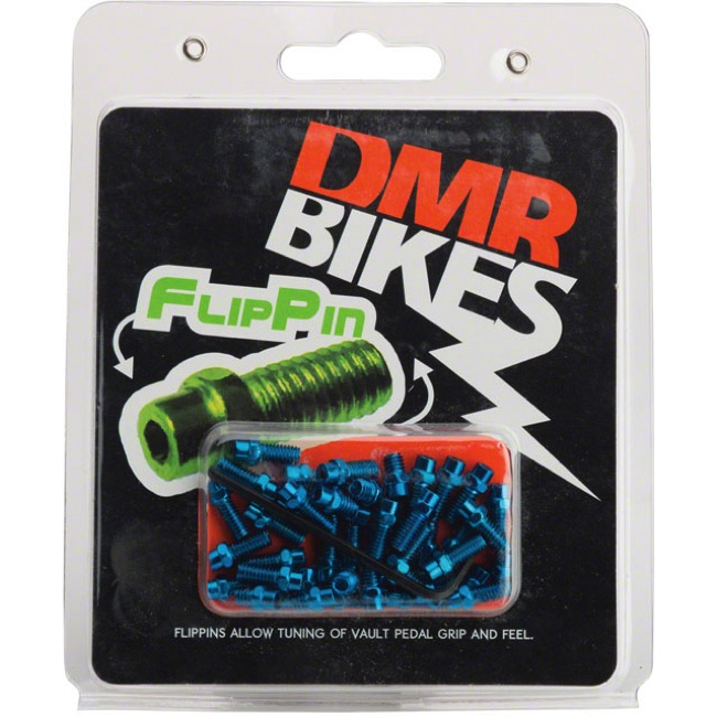DMR Traction Pin Sets - Fits Vault, Flip Pin Set (Blue)
