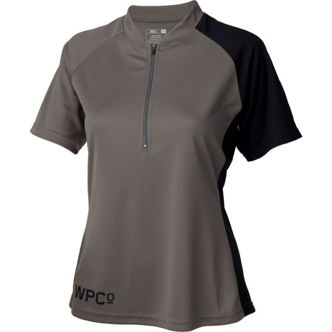 Whisky Parts Co. Womens #3 Jersey - Graphite/Black - Small (Graphite/Black)