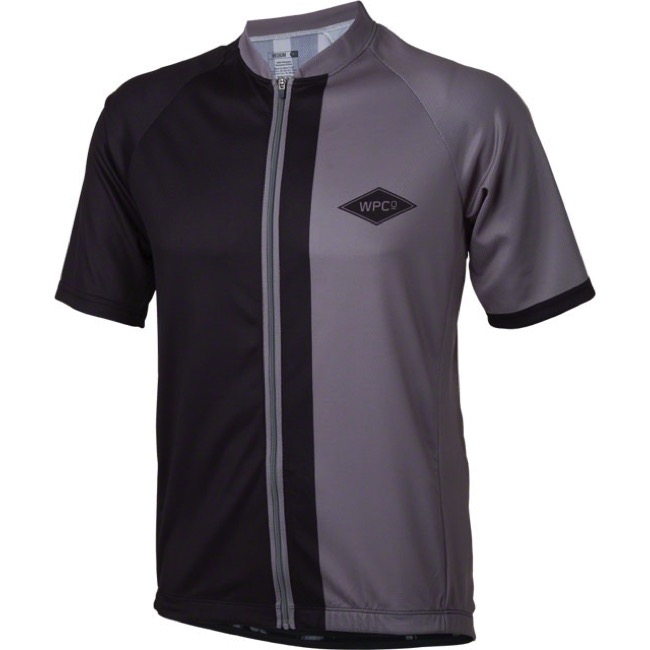 Whisky Parts Co. #5 Divide Jersey - Black/Graphite - Large (Black/Graphite)