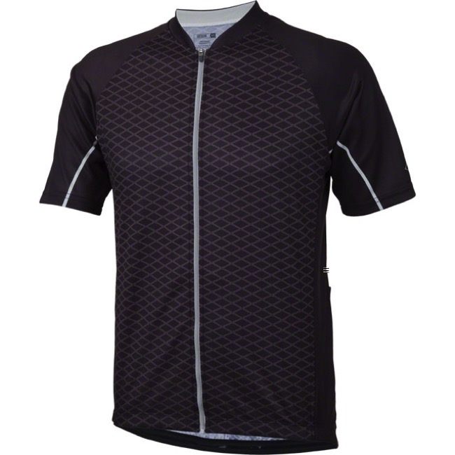 Whisky Parts Co. #5 Grid Jersey - Black - Large (Black)