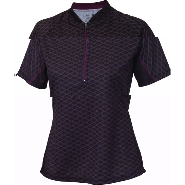 Whisky Parts Co. Women's #5 Grid Jersey - Black - X Large (Black)