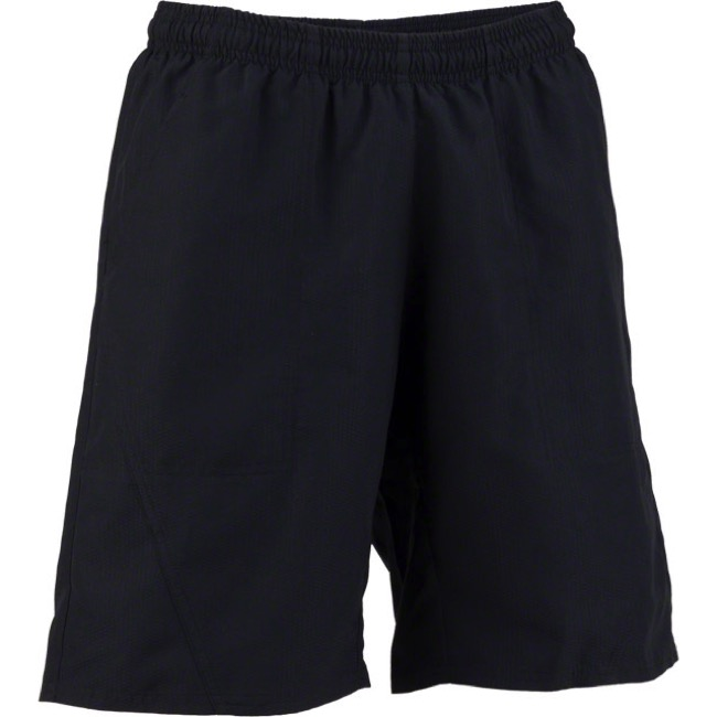 Whisky Parts Co. Womens #3 Baggy Shorts - Black - Medium (Black)