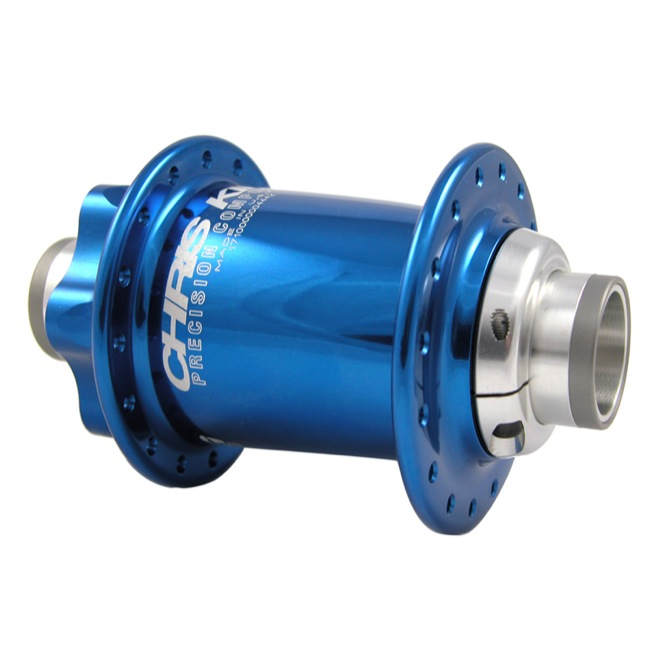 Chris King ISO Disc 20mm Front Hub - 32 Hole (Navy)