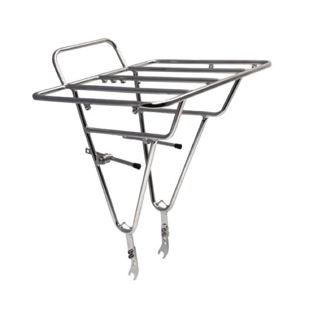 Soma Deluxe Porteur Front Cargo Rack - Front Rack (Stainless)