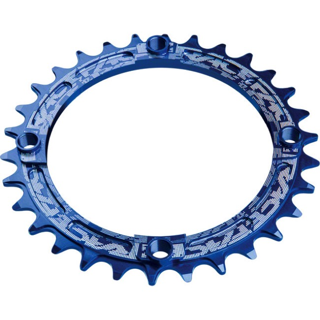 Race Face Narrow Wide Chainrings - 9/10/11/12 Speed - 104mm x 30t (Blue)