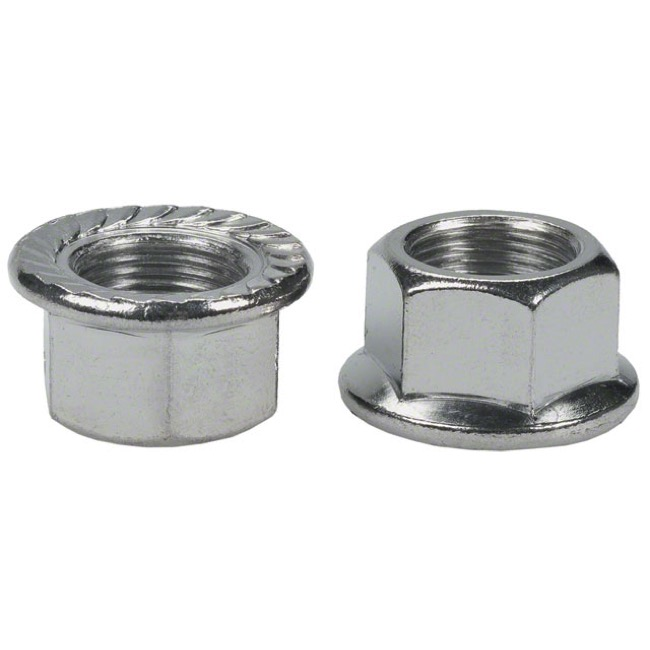 Wheels Manufacturing Axle Nuts - 14 x 1mm (Pair)