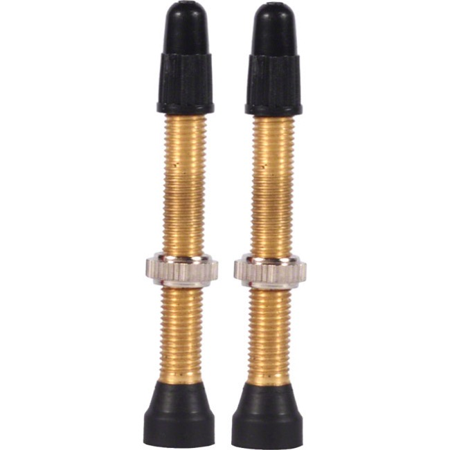 WTB Brass TCS Presta Valves - 34mm (Pair)