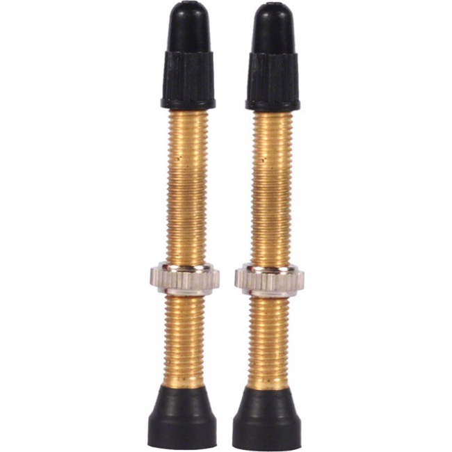 WTB Brass TCS Presta Valves - 46mm (Pair)