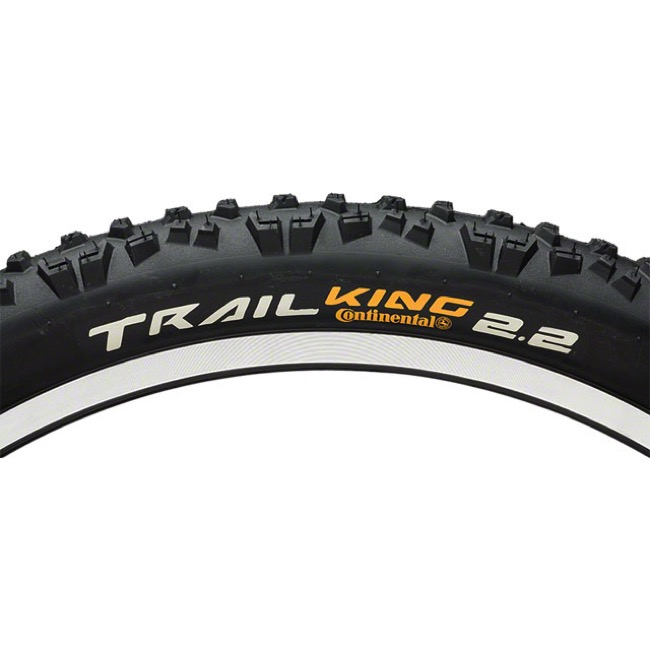 "Continental Trail King ProTection 27.5"" Tire 2017 - 27.5 x 2.2"" (Folding Bead)"