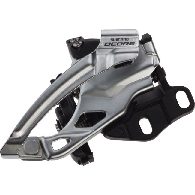 Shimano FD-M615 Deore E2 Double Front Derailleur - 2 x 10 Speed - E2 Type (2 x 10)