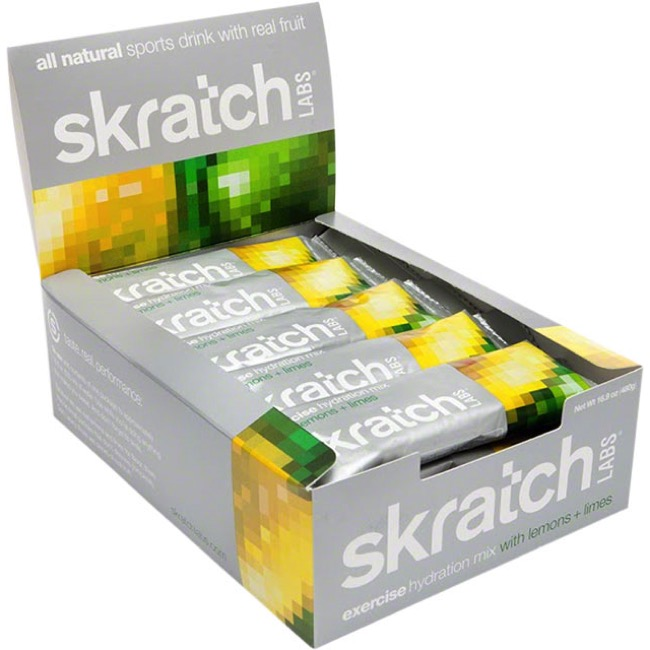Skratch Labs Exercise Hydration Drink Mix - Lemons and Limes (Single Serving)