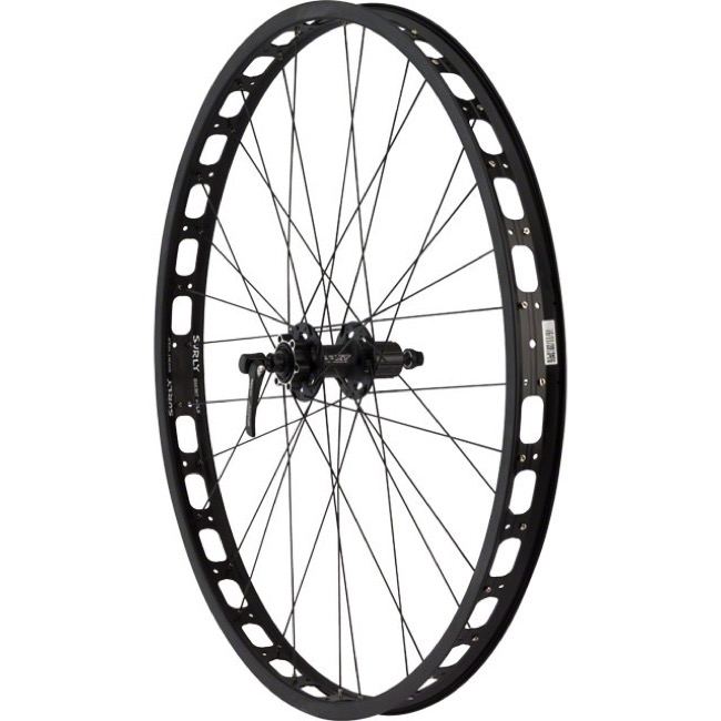 "Shimano XT/Surly Rabbit Hole 29+ Wheel - 29""+ - Deore XT HB-M756 Rear Hub (Complete Wheel)"