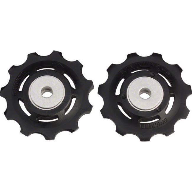 Shimano Upper and Lower Pulleys and Bolts - Ultegra 6800/6870 Pulley Set (Pair)