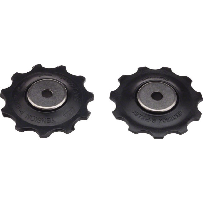 Shimano Upper and Lower Pulleys and Bolts - SLX M663, M670, M675 Pulley Set (Pair)