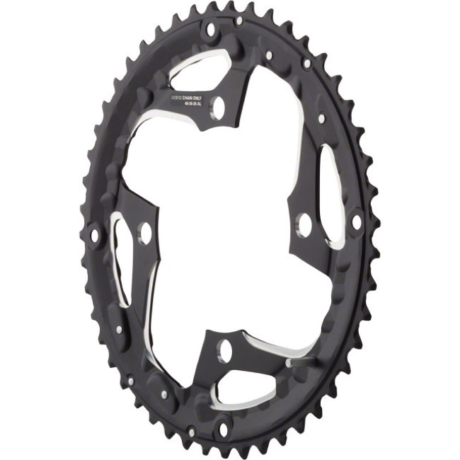 Shimano Deore LX T671 Triple Chainrings - 104 x 48t, Outer (For use with 26/36/48t)