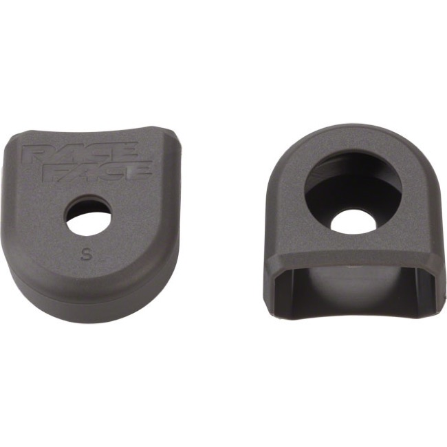 Race Face Aluminum/Small Crank Arm Boots - Pair (Gray)