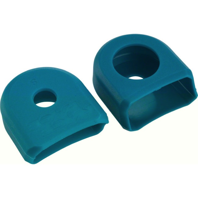 Race Face Aluminum/Small Crank Arm Boots - Pair (Turquoise)